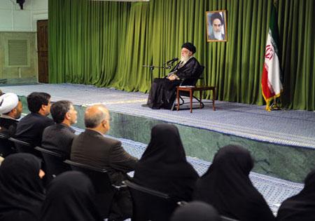 دیدار نمایندگان مجلس شورای اسلامی با رهبر معظم انقلاب