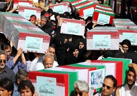 پیکرهای 45 شهید گمنام از مرز تمرچین وارد کشور میشود