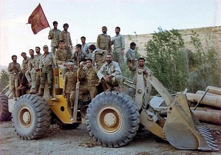 Image result for جهاد سازندگی در جنگ