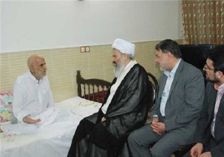 پدر شهیدان محسن، جواد، علی اصغر و محمدرضا به دیدار فرزندانش شتافت/مراسم تشییع امروز