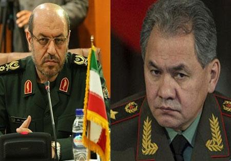 وزیر دفاع روسیه در ایران