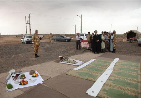 دید و بازدیدهای نماینده ولی فقیه در ارتش با سربازان/ از دهلاویه تا صفر مرزی
