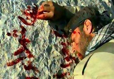 شهیدی که وصیتش را با خون نوشت! +عکس