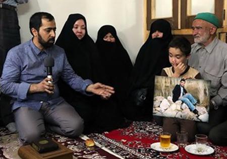 خبر شناسایی شهید سید علیاکبر حسینی توسط فرزند شهید به مادرش اعلام شد