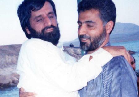 دوستی دیرین دو فرمانده + عکس