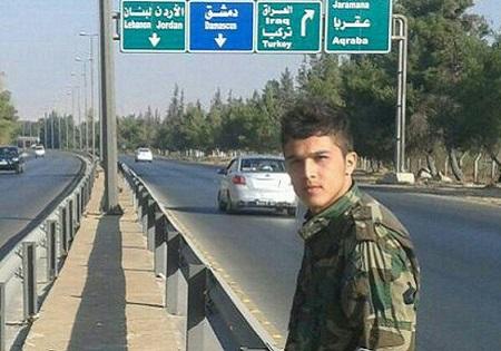 تصاویر شهید 20 ساله مدافع حرم افغانستانی