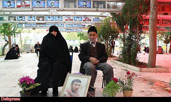 هفت سین سر مزار نسخه چاپی - تحویل سال مادران شهدا/عکس