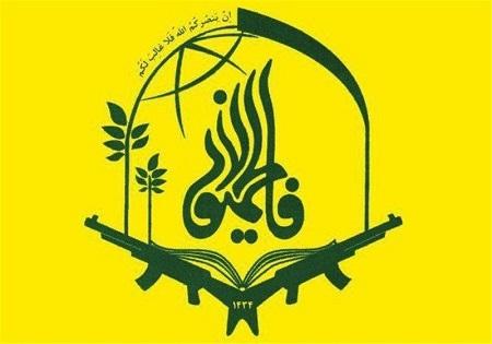 تشییع ۳ شهید مدافع حرم فاطمیون در رواق امام خمینی (ره) آستان قدس رضوی