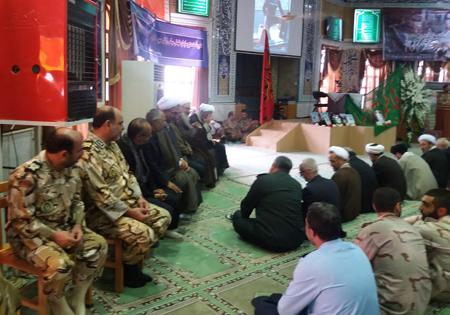 گرامیداشت شهید ارتشی مدافع حرم استان گلستان برگزار شد + تصاویر