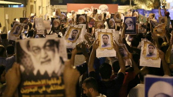 Film / Demonstration of Bahraini people in support of Sheikh Isa Qassim