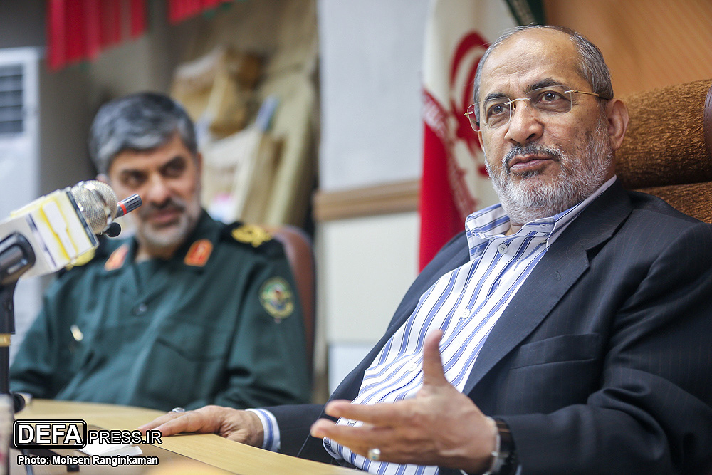 The second part / Detailed press briefing with General Rafiqdoost