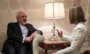 Zarif, Mogherini discuss JCPOA, Iraq reconstruction in Kuwait