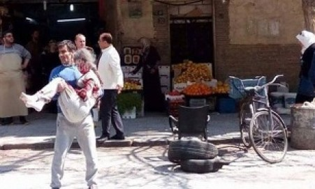 18 civilians injured in rocket shell attacks on Damascus