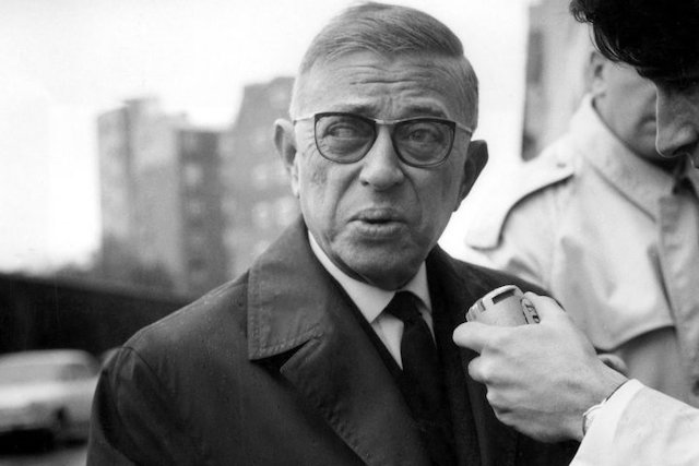 Zionists deceived Jean-Paul Sartre into writing against Palestine