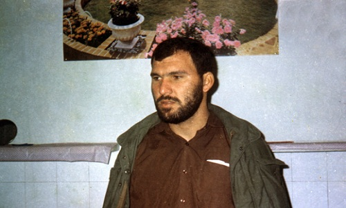 He always accompanied with martyr agheri / Eventually, his prowess was in Valfajr 8