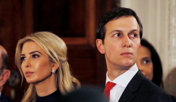 Report: Ivanka Trump, Jared Kushner Made over $82m Outside White House Roles