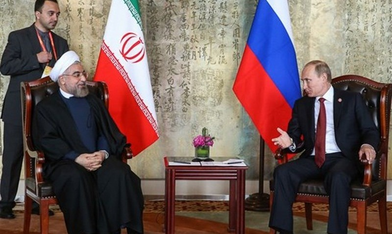 Iranian, Russian Presidents to Meet in China