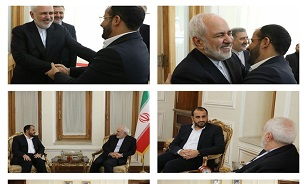 Iran's Zarif, Yemeni Top Official Meet in Tehran