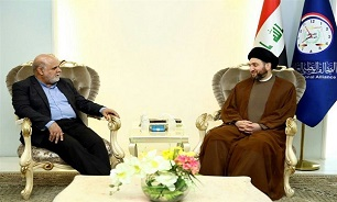 Iraq's Hakim, Iranian Envoy Discuss Protests