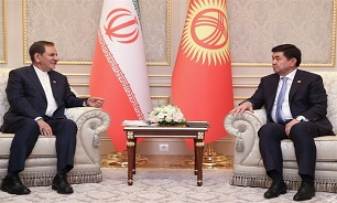 Iranian VP, Kyrgyz PM Discuss Closer Ties