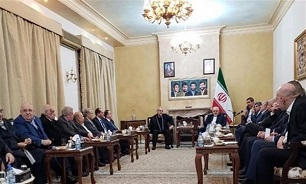 Iran's Foreign Minister Meets Lebanese, Palestinian Figures in Beirut