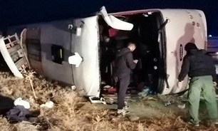 Bus Crash in Northern Iran Leaves 19 Dead, 24 Injured