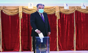 Rakhmon re-elected as Tajikistan's president