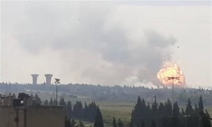Explosions Rock Ammunition Depot in Syria's Homs City