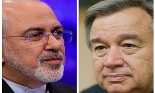 Iran's Zarif Sends Letter to UN Chief on US Sanctions, Unilateralism