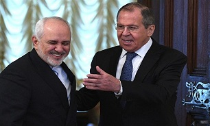 Zarif: Iran-Russia Ties Serving Int'l Security