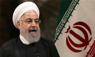 President Rouhani Praises Iranian People's Resistance against Sanctions