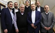 Hezbollah delegation meets with Iran's Russia envoy