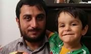 دعای شهید مدافع حرم در حق فرزندش