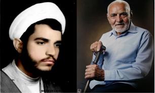مراسم تشییع پدر شهید روحانی «محمدحسین عربزاده» برگزار شد