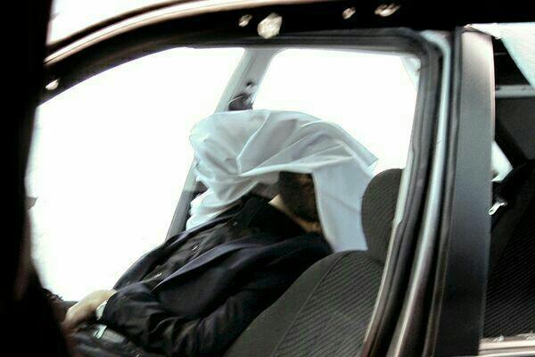 عکس کمتر دیده شده از لحظه ترور شهید احمدی روشن