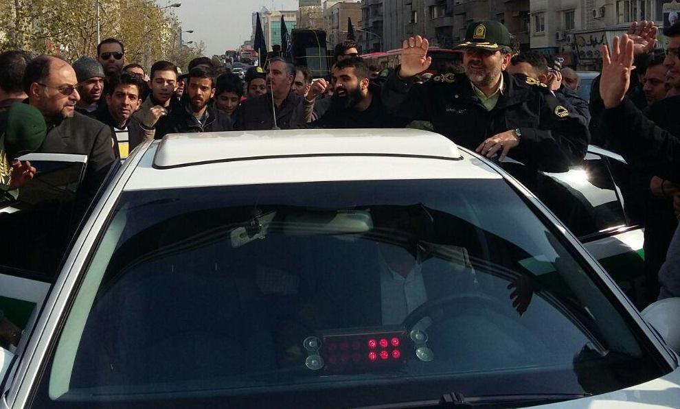 عکس/ فرماندهان حاضر در مراسم تشییع آیتالله هاشمی رفسنجانی