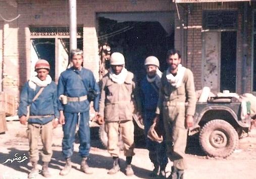 عکس / یادگاری کربلای 4 در خرمشهر