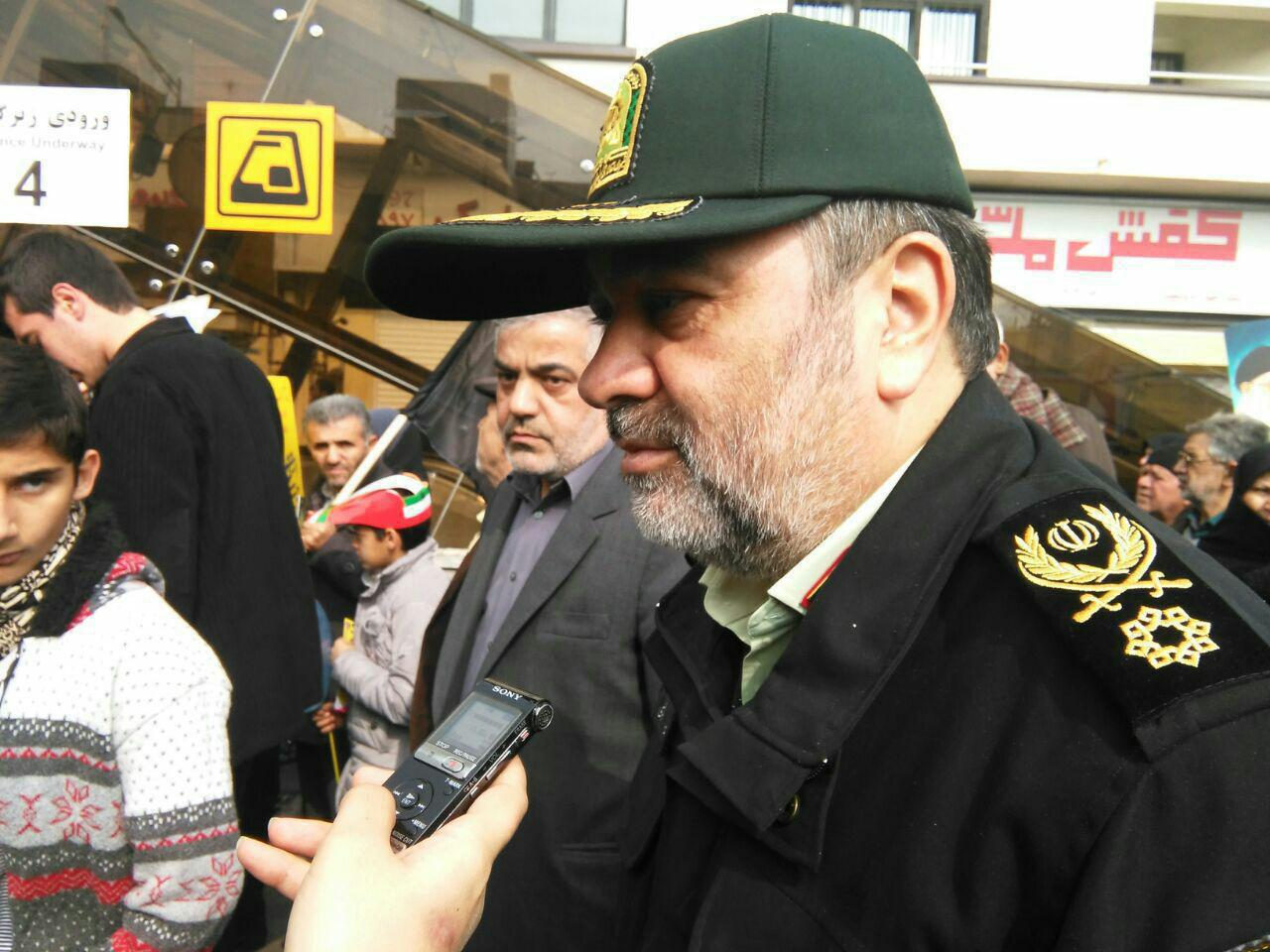 حضور پرشور مردم و مسئولان انقل در یومالله 22 بهمن/ ایرانی از تهدید نمیترسد/ ملت ایران پاسخ ترامپ را دادند