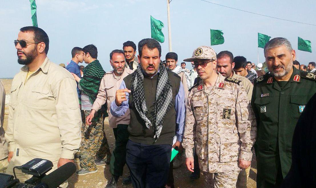 سرلشکر باقری در یادمان شهدای فتح المبین حضور یافت