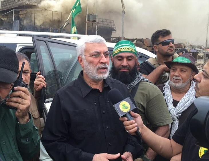 ابوعزرائیل در عملیات آزادسازی موصل+ عکس