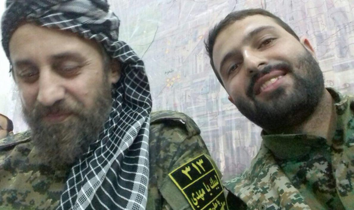 شهادت دو ایرانی در حلب سوریه+تصویر