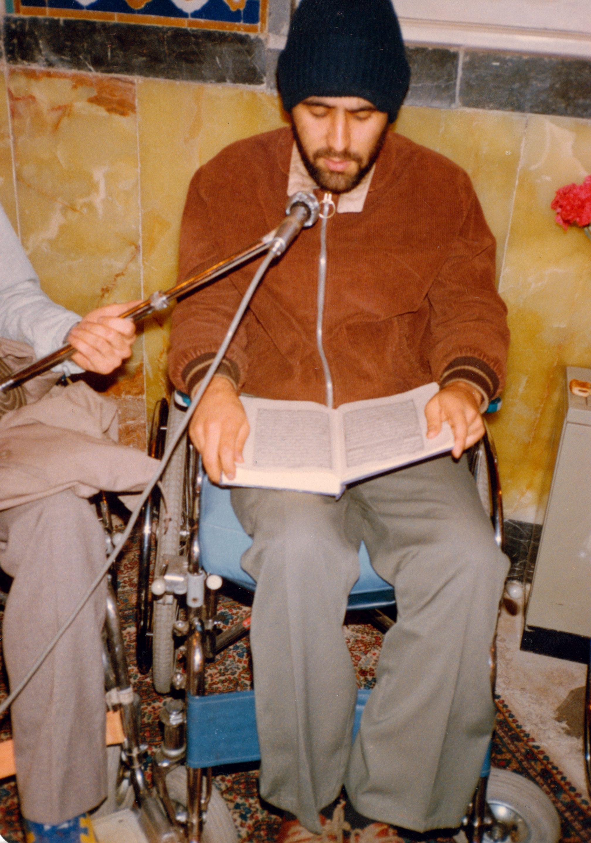 تصاویر جانباز 8 سال دفاع مقدس محمد مدنی