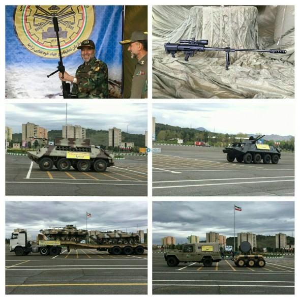 فیلم/ رونمایی از دستاوردهای جدید نیروی زمینی ارتش