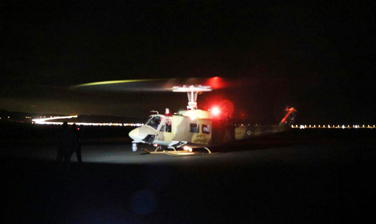 بالگردهای مجهز به سامانه دید در شب هوانیروز عملیاتی شدند
