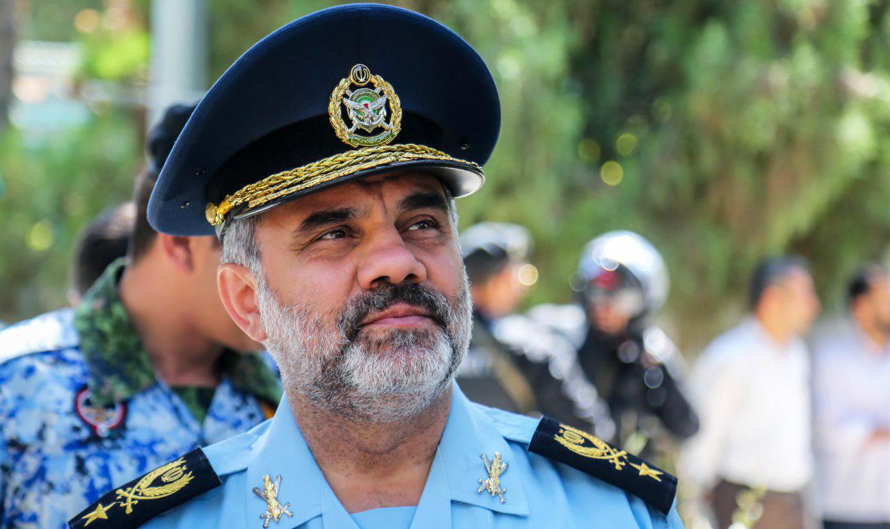 بازدید فرمانده نیروی هوایی ارتش از پایگاه وحدتی دزفول