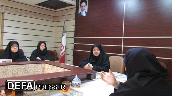 برگزاری نشست شورای راهبردی زن و دفاع مقدس دریزد