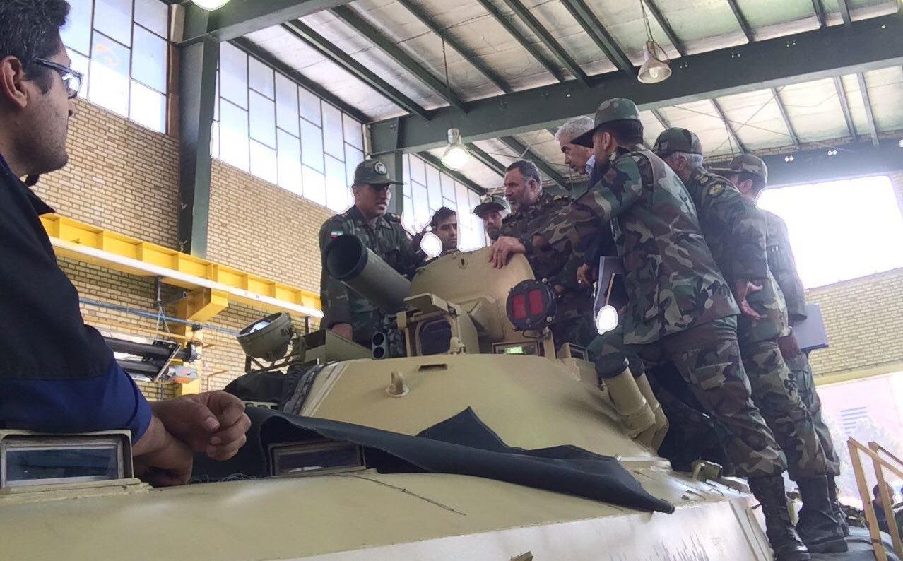 الحاق 82 خودروی تاکتیکی به یگانهای عملیاتی نزاجا