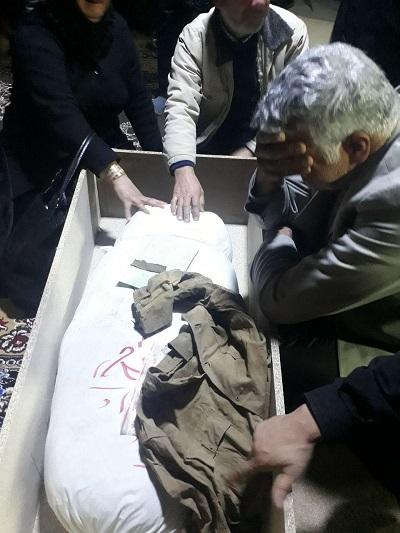 وداع با پیکرهای مطهر 6 شهید دوران دفاع مقدس در معراجالشهدای تهران