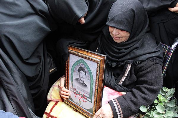 پیکر شهید «سیف علی نظری» در خانه ابدی آرمید