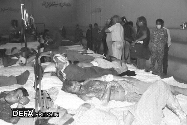 پرستار مرکز درمان مجروحان شیمیایی از دوران دفاع مقدس میگوید